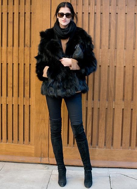 Fluffy fur