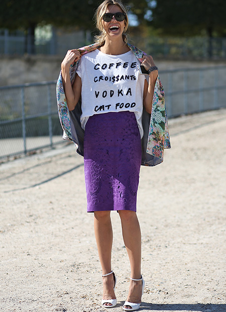 La jupe idéale